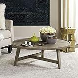 Safavieh fox4257a Home Collection Malone Retro Mid Century Holz Kaffee Tisch, Eiche hell/braun