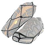 Yaktrax yaktrax walker, Unisex - Erwachsene Anti-Rutsch-Sohlen/Schuhkrallen, schwarz, XS