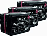 Hoyo Technology GmbH 30 Kg Braunkohle Unionbriketts Braunkohle Kaminbriketts