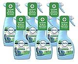 6er Set Febreze Antibakteriell Textilerfrischer Spray 500ml entfernt 99,9% der Bakterien (6)