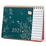 Boxclever Press Everyday Tischkalender 2021 mit Monatsansicht. 12-monatiger Kalender 2021 Tischkalender, Januar - Dezember 2021. Idealer Planer 2021 für Zuhause oder das Büro mit separater To-do-Liste