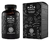 NATURE LOVE® Bio Maca Kapseln (schwarz) - 3000mg Bio Maca...