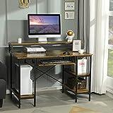 Sedeta PC Tisch, Computertisch PC Schreibtisch Home Office,...
