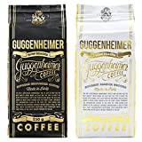 NEU | GUGGENHEIMER COFFEE | Kaffee gemahlen Probierpaket 500g | Supreme 250g & Gourmet Arabica 250g | wenig Säure & Bitterstoffe | Bester Espresso für Espressokanne | Kaffee Probierset