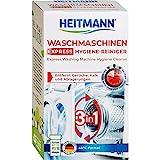 Heitmann Express Waschmaschinen Reiniger: entfernt Kalk, Ablagerungen und Gerüche, Maschinenreiniger, 250 g