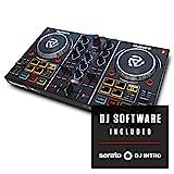 Numark Party Mix - der ursprüngliche 2-Kanal Plug und Play DJ Controller für Serato DJ Lite mit eingebautem Audio Interface. Steigen Sie auf Party Mix 2 um, ab sofort erhältlich
