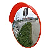 Zhao Li Verkehr im Freien Weitwinkelobjektiv Straße Weitwinkelobjektiv Konvexer sphärischer Spiegel Eckiger gebogener Spiegel Konkaver Spiegel Diebstahlsicherer Spiegel