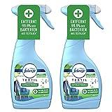 2er Set Febreze Antibakteriell Textilerfrischer Spray 500ml entfernt 99,9% der Bakterien (2)