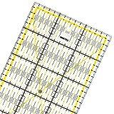 WINTEX Universal-Lineal 15 cm x 60 cm, transparent, 2-farbiger Druck mit cm-Raster und Winkelanzeige in 30°/45°/60°- Rollschneider-Lineal, Patchwork-Lineal, Bastel-Lineal – ideal zum Nähen und Basteln
