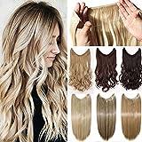 50cm Haarverlängerung Haarteil Extensions Ein Tressen Haare...