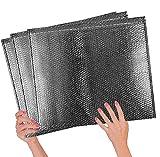 ABC Cool Shield Thermo-Luftpolster-Versandtaschen, 22 x 18 cm, gepolsterte Thermotaschen, 22 x 18 cm